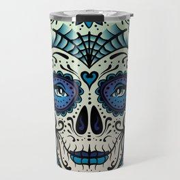 Sugar Skull (Calavera) by Adam Miconi Travel Mug