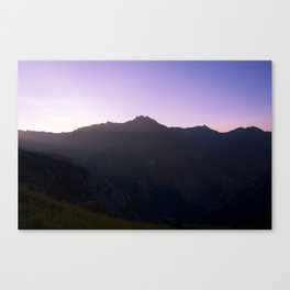 Weminuche Wanderland - Silverton CO Canvas Print
