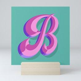Letter B - 36 Days of Type Mini Art Print