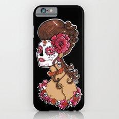 Glamorous Sugar Skull Girl Slim Case iPhone 6s