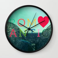 romantic Wall Clocks featuring ROMANTIC by famenxt