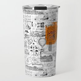Looking Back to the Future Travel Mug