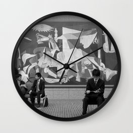 Guernica in Tokyo Wall Clock