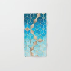 Sea And Sky Cubes (Custom Request) Hand & Bath Towel