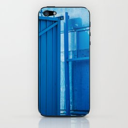 blue palette iPhone Skin