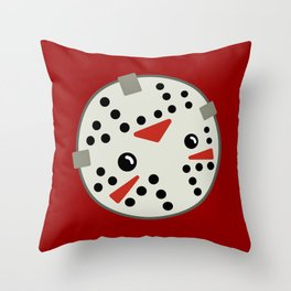 Jason Loves Fridays! Throw Pillow