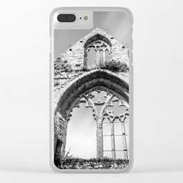 Beauport Abbey Clear iPhone Case