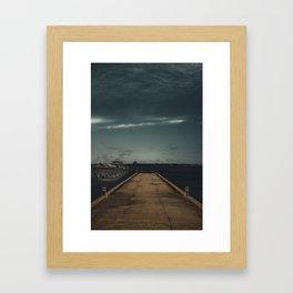 The Drop Off Framed Art Print