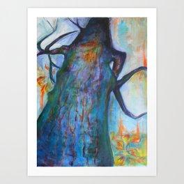 She Tree Art Print
