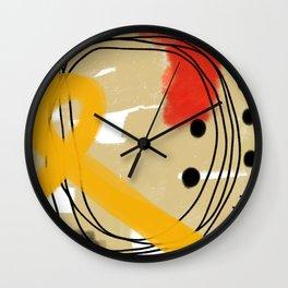 ABSTRACT DRAWING 11 Wall Clock