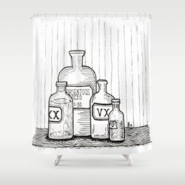 Poison Shower Curtain