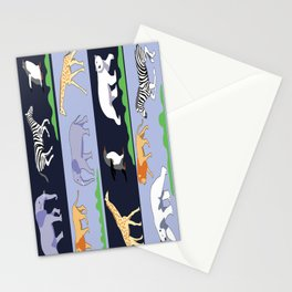 Animal design Stationery Cards