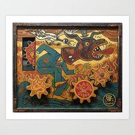 Paul Chatem_The Palm of a Cad Art Print