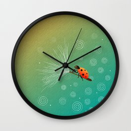Ride On The Winds Wall Clock