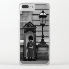 Beefeater Guard at Buckingham Palace Clear iPhone Case