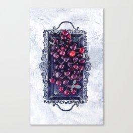 Winter Cherry Canvas Print