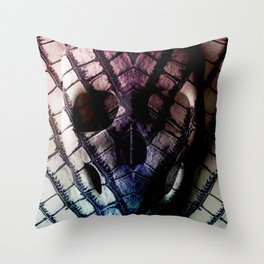 Skull (Feat. Marta Macedo) Throw Pillow