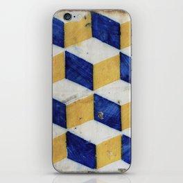 Portuguese tiles pattern iPhone Skin