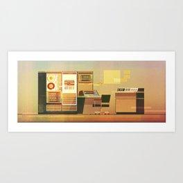 Computer No.2 Art Print