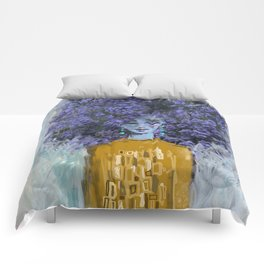 California Lilac Comforters