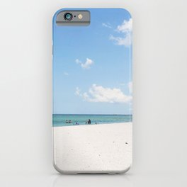 Big Hickory Beach iPhone Case
