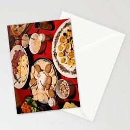 Appetizing Feasts #1 Stationery Cards