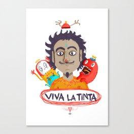 Viva La Tinta Canvas Print