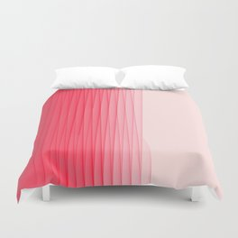 Pink on Pink Duvet Cover