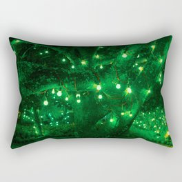Light bulb garden Rectangular Pillow