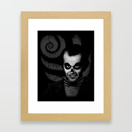 Jack T. Skeleton Framed Art Print