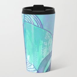 fingerprint Metal Travel Mug