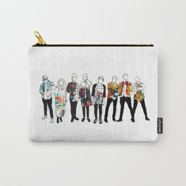 Music Improvised Art Series Carry-All Pouch