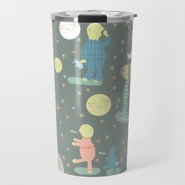 Everybody...off to bed - Childrens book illustration/Pattern Travel Mug
