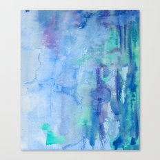 Watercolor Blue Canvas Print