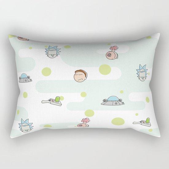 Rictsy Print Rectangular Pillow