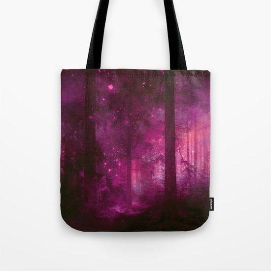 Into the purpur light Tote Bag