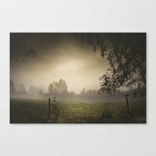 Even heroes cry sometimes Canvas Print