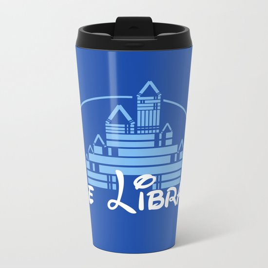 The Library Metal Travel Mug