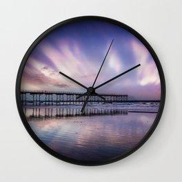 Rainbow Beach Wall Clock