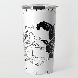 Squirrellamb © Mókusbárány - Yin-Yang /2 Travel Mug