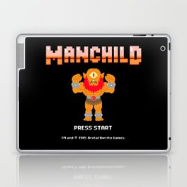 8Bit Manchild Laptop & iPad Skin