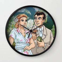 Our Miss Brooks & Mr. Boynton Wall Clock