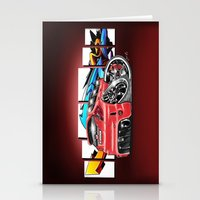 honda Stationery Cards featuring Honda fit by Xr1s