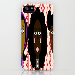black girls rock and rule iPhone Case