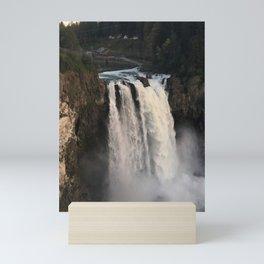 Snoqualmie Falls Mini Art Print