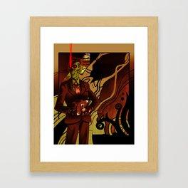 Skullsecrets Framed Art Print