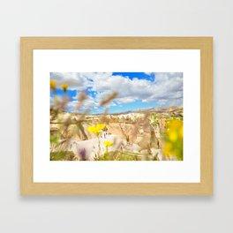 Breathtaking Sights of Cappadocia Framed Art Print