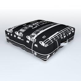 Music sheet Outdoor Floor Cushion