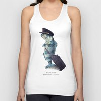 inspirational Tank Tops featuring The Pilot by Eric Fan