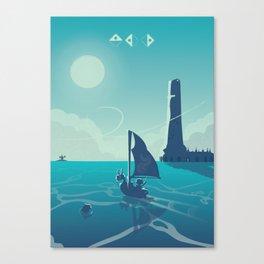 Zelda Wind Waker Canvas Print